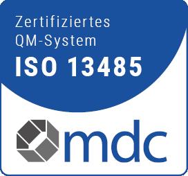 mdc Zertifikat DIN EN ISO 13485:2016