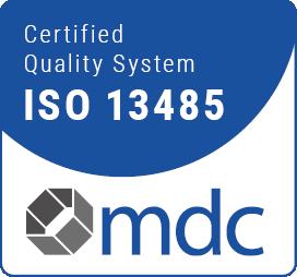 mdc Certificate DIN EN ISO 13485:2016