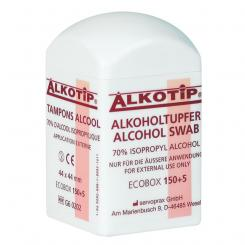Alkotip Alkoholtupfer in der Dispenserdose