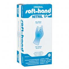 Soft-Hand > Nitril Blue - puderfrei